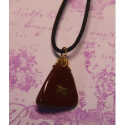 Red Jasper Pendant ARIES