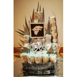 Game of Thrones Diaper cake