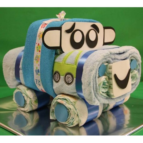 Car of diapers