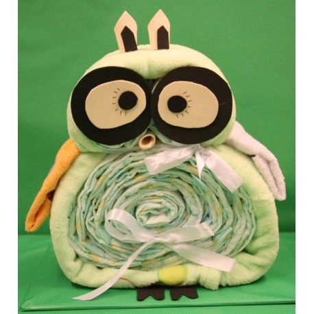 Owl of diapers