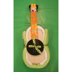 Guitar of diapers